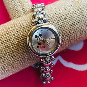 Jewelry - DISNEY MICKEY MOUSE Silver Link Watch